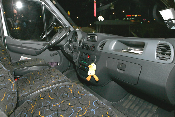 Мерседес-Спринтер, салон автомобиля